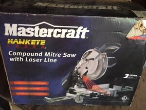 Mastercraft Compound Mitre Saw with Laser Line