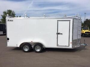 NEW 2018 XPRESS 7' x 16' ULTIMATE CONTRACTOR ENCLOSED TRAILERS