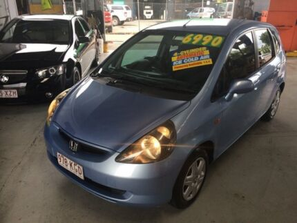 2002 Honda Jazz Blue 4 Speed Automatic Hatchback Bungalow Cairns City Preview