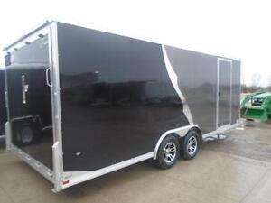 8.5 X 20 NEO CAR HAULER - ALL ALUMINUM, TONS OF FEATURES! London Ontario image 2