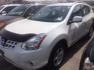 2011 NISSAN ROGUE S AWD/AUXILIARY AUDIO INPUT/TOWING PKG/WHITE!