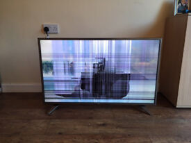 LG 43UH650V 43 inch Web OS Smart 4K UHD TV with HDR (Cracked Screen/ Faulty)