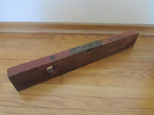 Antique Wooden Level