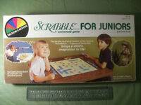 Srabble for juniors crossword game - ages 6 to 10