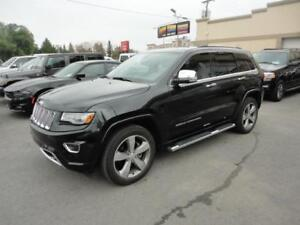 Jeep Grand Cherokee 2014 Overland-Cuir-ToitPano-4X4-Navi a vendr