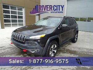 2014 Jeep Cherokee TRAILHAWK LEATHER $199b/w
