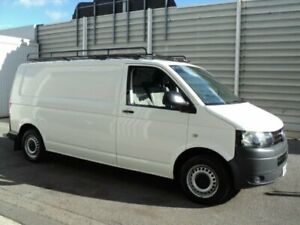 2010 Volkswagen Transporter T5 MY10 132 TDI LWB Low White 7 Speed Auto Direct Shift Van Edwardstown Marion Area Preview