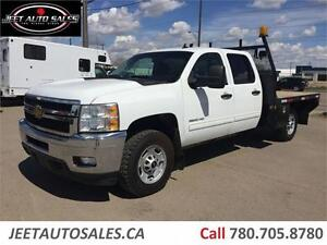 "2012 Chevrolet Silverado 3500HD LT 8'6"" Flat Bed"