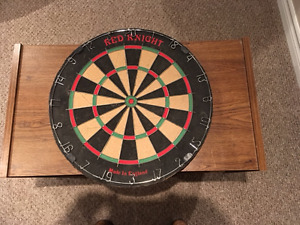 Original Red Knight Dart Board
