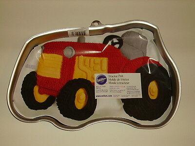 NEW WILTON JOHN DEERE INTERNATIONAL FARM TRACTOR BIRTHDAY CAKE PAN #2105-2063 - John Deere Cakes