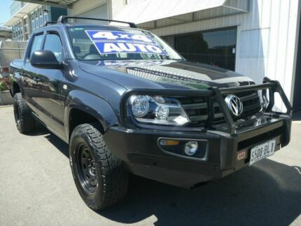 2015 Volkswagen Amarok 2H MY15 TDI420 4MOTION Perm Core Blue 8 Speed Automatic Utility Edwardstown Marion Area Preview
