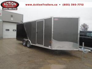 8.5 X 20 NEO CAR HAULER - ALL ALUMINUM, TONS OF FEATURES! London Ontario image 1