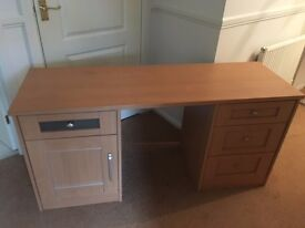 Dressing Table or Desk, with Mirror