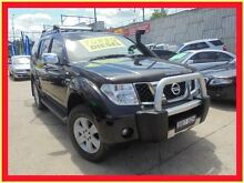 2007 Nissan Pathfinder R51 MY07 ST-L Black 5 Speed Automatic Wagon Holroyd Parramatta Area Preview