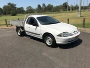2002 Ford Falcon AU III XL White Automatic Cab Chassis West Gosford Gosford Area Preview