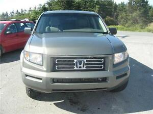 2007 Honda Ridgeline LX...INSPECTED