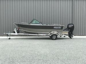 21ft Heavy Duty Aluminum Boat + Customized Aluminum Trailer