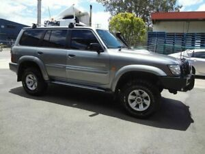 2004 Nissan Patrol GU IV ST-L (4x4) Silver 4 Speed Automatic Wagon Coopers Plains Brisbane South West Preview