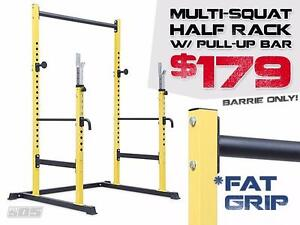 Half Rack with Pull Up Bar / Multi-Squat Racks / Power Racks