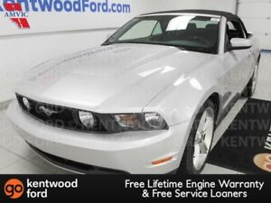 2012 Ford Mustang GT 5.0L RWD convertible with power leather sea