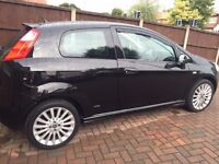 Fiat Punto Grande 1.4 Sporting (56) Black, 3 Door