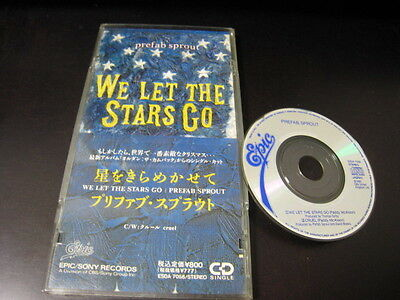 Sprout Mini (Prefab Sprout We Let The Stars Go Japan 3 inch Mini CD Single CDS Paddy McAloon)