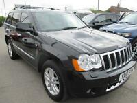 JEEP GRAND CHEROKEE 3.0 CRD Overland 5dr Auto (black) 2010