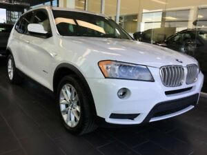 2013 BMW X3 35i, ACCIDENT FREE, DOUBLE SUNROOF