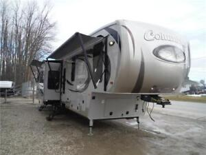 2016 Columbus 384RD Luxury 5th Wheel Trailer with 5 Slides
