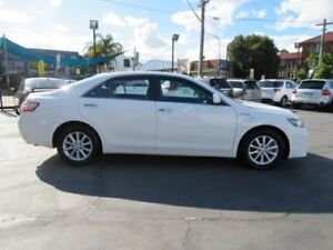 2010 Toyota Camry AHV40R Hybrid White Continuous Variable Sedan