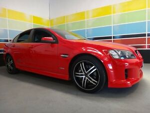 2010 Holden Commodore VE MY10 SS-V Red 6 Speed Automatic Sedan Wangara Wanneroo Area Preview