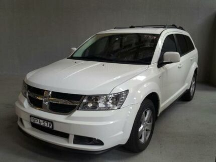 2010 Dodge Journey JC MY09 SXT White 6 Speed Automatic Wagon Georgetown Newcastle Area Preview