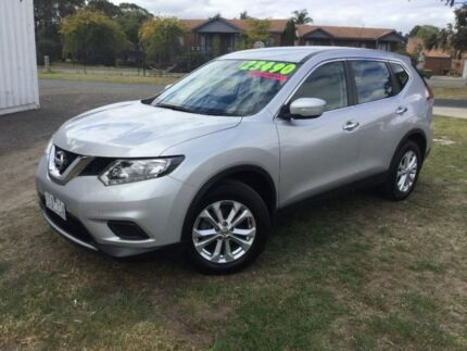 2015 Nissan X-Trail Silver Constant Variable Wagon Traralgon Latrobe Valley Preview
