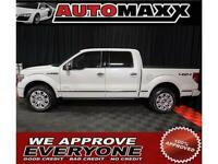 2013 Ford F-150 Platinum $299 Bi-Weekly! APPLY NOW DRIVE NOW!