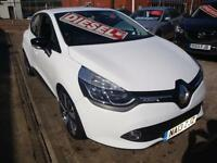13 RENAULT CLIO DCI DYMANIQUE S MEDIA NAV ENERGY 5 DOOR DIESEL TAX EXEMPT