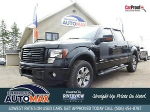 2011 Ford F-150 CREW CAB FX4! 3.5L EcoBoost! Leather!