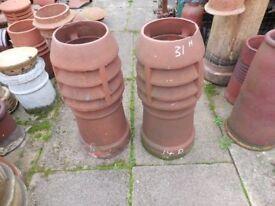Chimney pots Large selection available Chimney pots