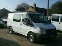 2711afe2dbf4e6 FORD TRANSIT 140 T280S 6 SEATER CREW VAN 2010(60) VERY CLEAN HUGE SERVICE