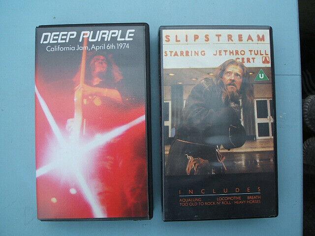Deep Purple - California Jam & Jethro Tull - Slipstream - VHS Videos (2)  Music | in Cowes, Isle of Wight | Gumtree