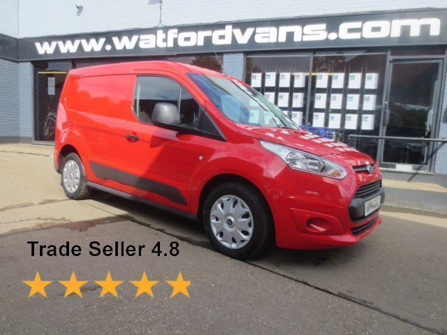 2014 Ford Transit Connect 200 Trend 1.6TDCi 75ps *E/Pack*Bluetooth* Diesel red M