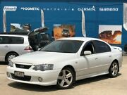 2004 Ford Falcon BA Mk II XR6 White 4 Speed Sports Automatic Sedan Greenslopes Brisbane South West Preview