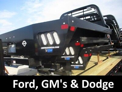 """Pickup Truck CM Flatbed Body, SS 8'6""""x97"""" 56-58""""CA 42""""R Ford Chevy Dodge 213496"""