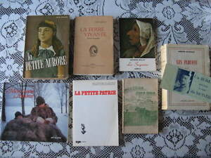 7 livres d auteurs differents