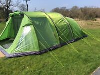 Hi Gear Sedona 6 Family Tent in Bright Green AS NEW