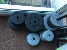 Weight plates and more