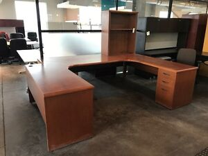 DEAL OF THE WEEK! Executive Wood Suite w/ Storage! $99.00/Set!!
