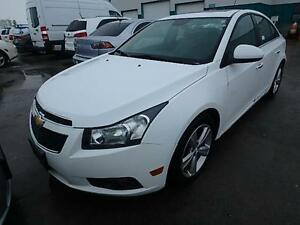 2012 CHEVROLET CRUZE LTZ LEATHER SUNRROF ALLOYS EASY FINANCE