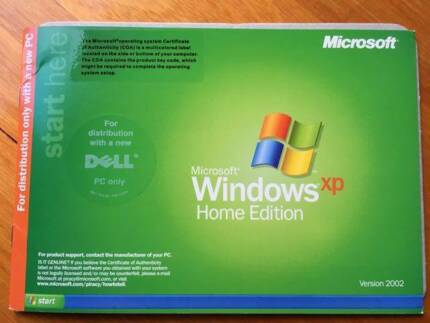 Windows XP Licence and Disk