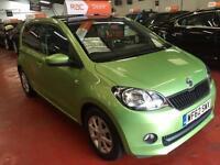 2012 (62) SKODA CITIGO 1.0 MPI 75 GreenTech Elegance
