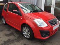 CITROEN C2 1.6 VTS 16V 3d 121 BHP (red) 2009